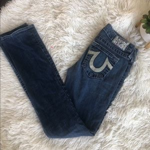 Women's true religion skinny jeans